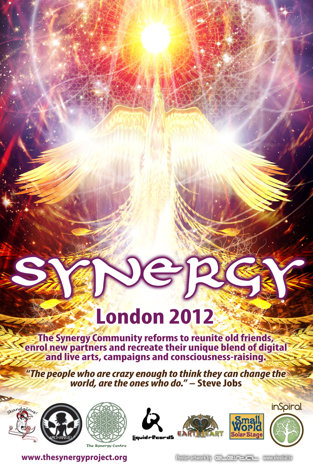 Synergy London 2012 Poster